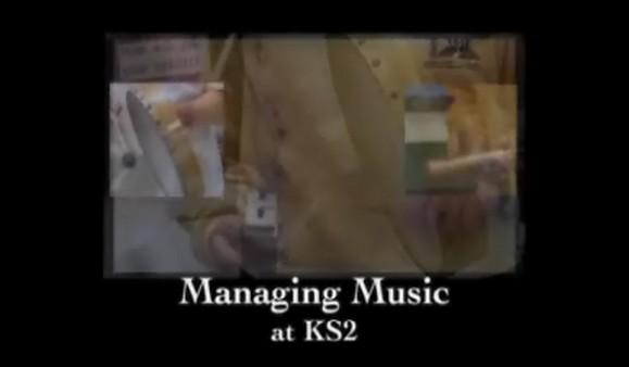 KS1/2 Music – Managing Music at KS2