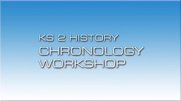 KS2 History – Chronology Workshop
