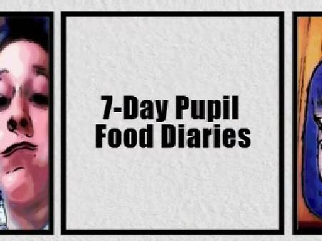 KS3 PSHE – 7-Day Pupil Food Diaries