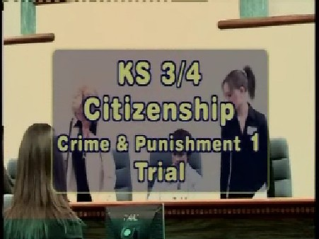 KS3/4 Citizenship – Crime and Punishment: Trial