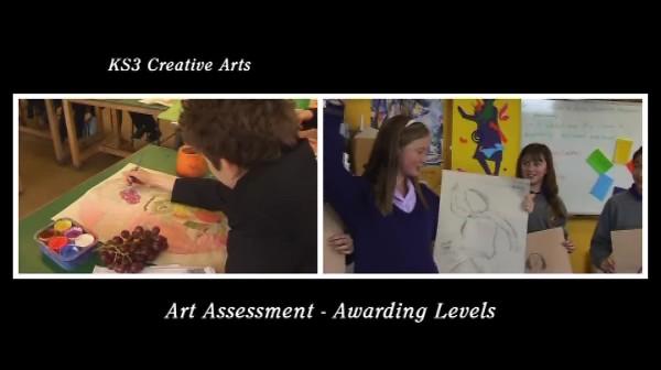 KS3/4 Creative Arts – Art Assessment – Awarding Levels