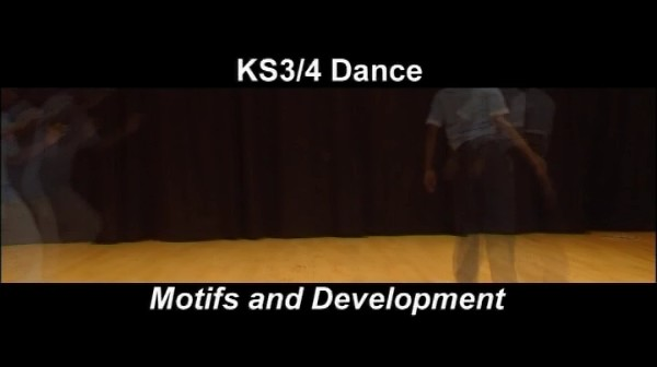 KS3/4 Dance – Motifs and Development