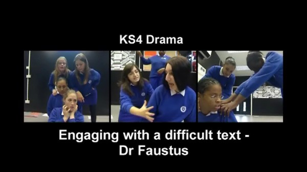 KS3/4 Drama – Engaging with a Difficult Text – Dr Faustus