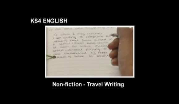 KS3/4 English – Non Fiction -Travel Writing