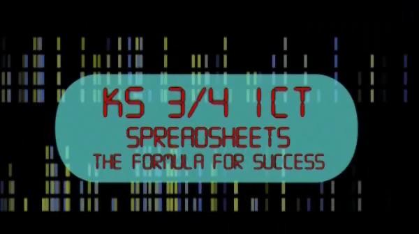 KS3/4 – ICT Spreadsheets