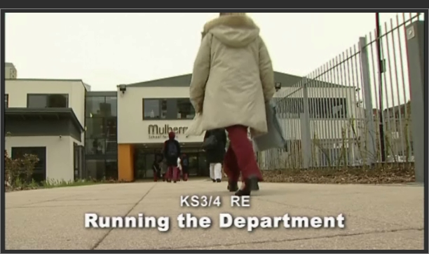 KS3/4 RE – Running the Department