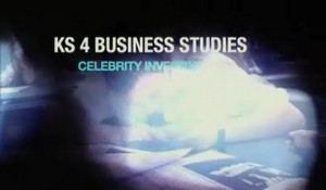KS4 Business Studies – Celebrity Investing
