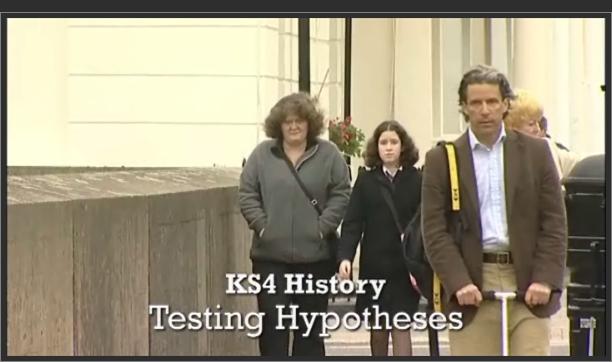 KS4 History – Testing Hypotheses