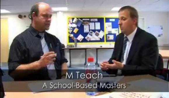 M Teach – A School-Based Masters