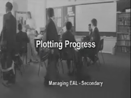 Managing EAL – Secondary – Plotting Progress