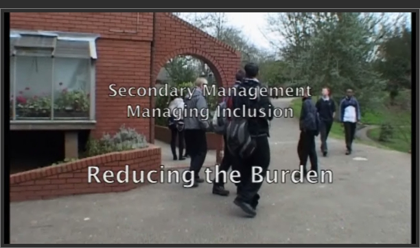 Managing Inclusion: Reducing the Burden