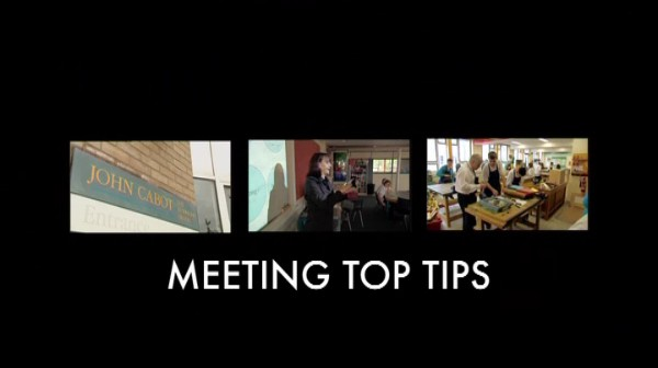 Meeting Top Tips – Effective Meetings: Influencing Others