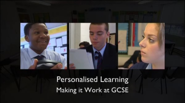 Personalised Learning at GCSE: Whole School Issues