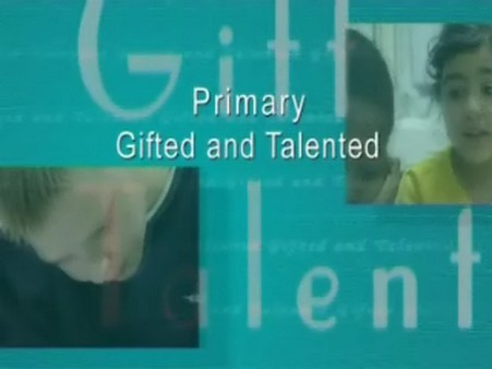 Primary Gifted and Talented – Whole School Issues