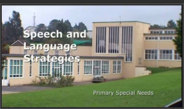 Primary Special Needs – Speech and Language Strategies
