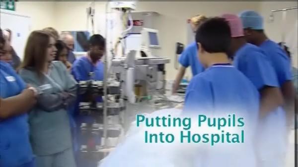 Putting Pupils into Hospital