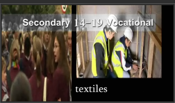 Secondary 14-19 Vocational – Textiles