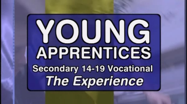 Secondary 14-19 Vocational – Young Apprentices – The Experience