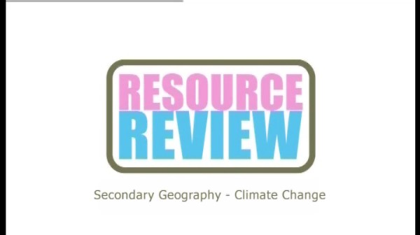 Secondary Geography: Climate Change