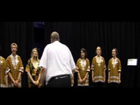 Secondary Singing with Howard Goodall – African Singing