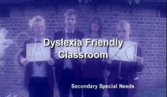 Secondary Special Needs – Dyslexia Friendly Classroom