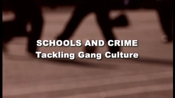 Tackling Gang Culture
