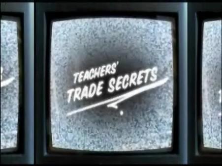 Teachers' Trade Secrets