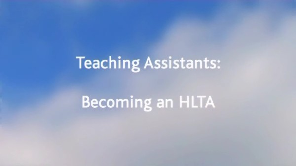 Teaching Assistants – Becoming an HLTA