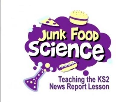 Teaching the KS2 News Report Lesson