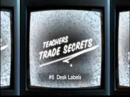 Trade Secrets – Desk Labels